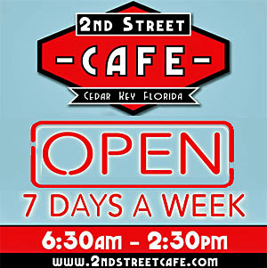 2nd Street Cafe in Cedar Key